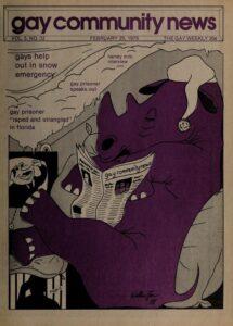 Gay Community News Volume 05, Number 32 (February 25, 1978)